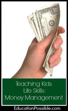 Teaching Kids Life Skills: Money Management @EducationPossible