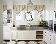 floor, traditional kitchens, valanc, window treatments, kitchen sinks
