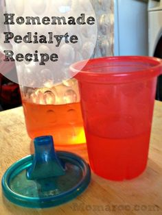 Homemade Pedialyte Recipe... cause when you really need it who wants to leave the house