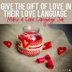 Making a love language jar  #howdoesshe #lovelanguages #lovelanguagejar #valentinesdayideas #relationships howdoesshe.com