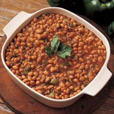 This recipe got 5 stars and won in a contest so I can't wait to try it! BAKED BEANS with meat.