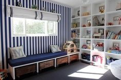 bench with storage!