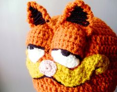 Crochet Garfield Hat