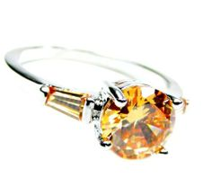 3-Stone Round Prong & Bar Set 1 Carat Light Orange Citrine Engagement Ring, Size 8 Ziva, LLC. $29.99. Product photos are of the actual item you'll be receiving; no computer generated imagery is used. Get 15% off your order when you order 2 or more items sold by Ziva, LLC (20% for 4 or more)-use claim code SHOPZIVA at checkout Light Orang, Comput Generat, Citrin Engag, Orang Citrin, Item Sold, Actual Item, Generat Imageri, Engag Ring, Engagement Rings