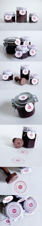 Unique Packaging Design on the Internet, e/m Jam #packaging #packagingdesign #jam
