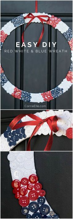 This easy DIY wreath