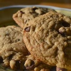 """""""These cookies are the pinnacle of perfection! If you want a big, fat, chewy cookie like the kind you see at  bakeries and specialty shops, then these are the cookies for you!"""""""