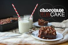 Chocolate Pecan Cake from @Tracy Stewart Stewart Benjamin. Dude!