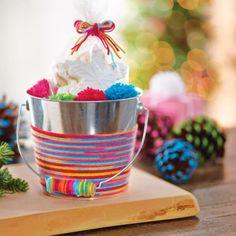Yarn Wrapped Bucket