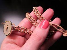 DIY: Chan Luu Wrap Bracelet by thebrunetteone #Bracelet #DIY #Chan_Luu #thebrunetteone