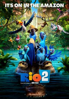 Rio 2 is sequel to the animation that I loved originally. The story was fun and entertaining. The sequel lost much of the luster of the original. I found Jesse Eisenberg's voice to be annoying in this film as every time he spoke, I almost cringed. The storyline seems to be recycled from past films and nothing really stood out. Disappointed.