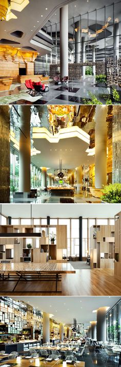 Parkroyal Design on Pickering by WOHA Architects