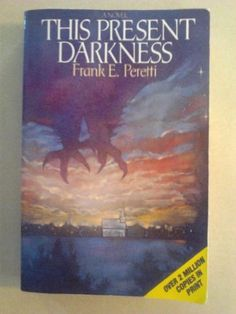 This Present Darkness by Frank E. Peretti, http://www.amazon.com/dp/B00CPMJUNE/ref=cm_sw_r_pi_dp_gV69rb0KDE5TV.  Great fiction about spiritual warfare.