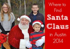 Where to Find Santa