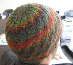 Swirl hat baby to adult sizes