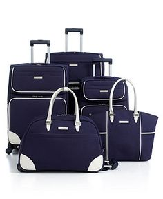 DESIGNER CLOSEOUT! Nine West Luggage, Rendevous - Luggage Collections - luggage - Macy's