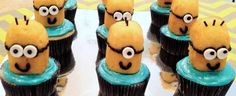 DIY Despicable Me Minion Cupcakes