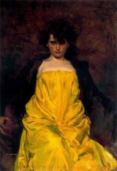 "Ramon Casas, ""La Sargatain"", 1907"