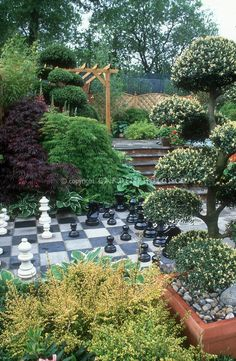Games in the garden- chess set @Nathan Mallonee Mallonee Mallonee Mallonee schmidt
