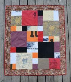 mosaic t shirt quilt pattern