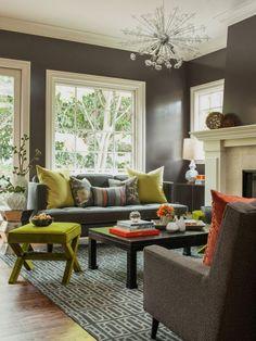 Colorfull Living Room Design