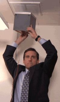 "Office Michael Scott ""Everybody dance now!"""