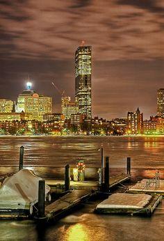 The John Hancock Tower - Boston