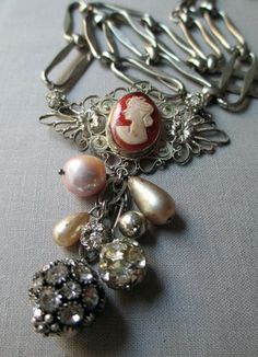camille necklace, $110 The French Circus Vintage Jewelry.com