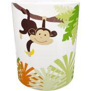 Wal-Mart Monkey Plastic Wastebasket