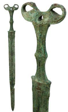 Ancient Celtic art sword 700 - 200 BC