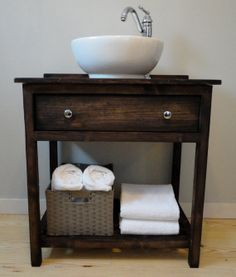 Modern farmhouse vanity featuring a large top by VermontVanities, $795.00