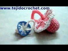 ▶ Souvenirs chupete en tejido crochet tutorial paso a paso. - YouTube