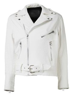 Shop now: Laer classic moto croc jacket