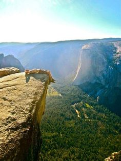 Is anywhere more relaxing than Taft Point in Yosemite?   32 Reasons California Is The Most Beautiful State In The Country