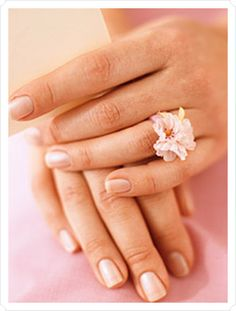 DIY flower ring