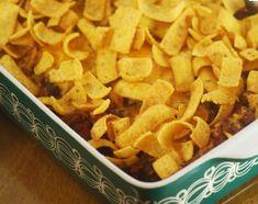 Frito Pie (Crock Pot Style)  I love Fritos! -cb