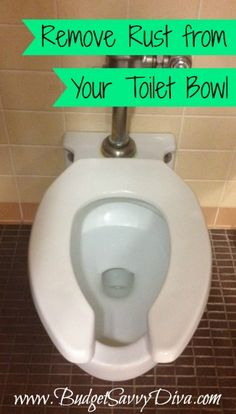 Remove Rust from Toilet Bowl