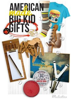 Made in USA Teen Gift Guide