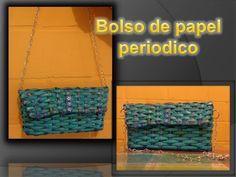 Bolso de papel periodico