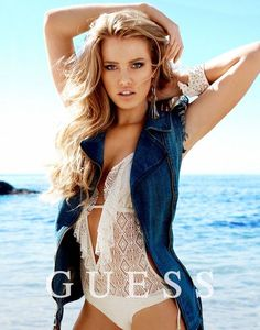 Smolderingly Vibrant Fashion Ads - The Guess Spring 2014 Accessories Campaign Stars Megan & Heather (GALLERY)