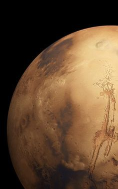 Wow, look at the size of Valles Marineris.