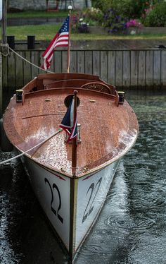 Rainy Days are just another chance to wipe down your boat!