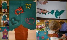 Christmas Tree Craft bigger toddlers - Kerstboom Knutsel kleuter | AngeliqueFelix.com