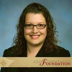 Maria Vaso, Zeta Phi, Amy M. Swisher Scholarship