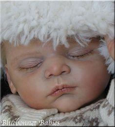"NEW ?Bluebonnet Babies? REBORN Baby Boy ""LINUS"" ?SOLD OUT? by Gudrun Legler"