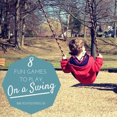 No doubt about it, swinging is FUN – but this activity is also full of amazing developmental benefits for kids including helping them to feel safe and secure as they play.  Did you realize that swinging had this awesome sensory benefit??  Here are 8 swing games to play AND 8 awesome swings for kids!  #swinging #swingset #swingsarefun #childdevelopment #grossmotor #sensory #pedipt #pediot #activitiesforkids #swingsforkids