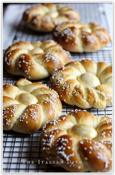 The Italian Dish - Posts - Italian Easter Bread, Revisited