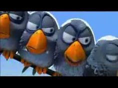 Pixar- For the Birds; good for inference, friendship, tolerance, bullying, lesson