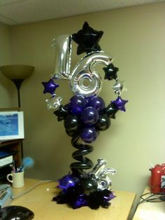 sweet 16th birthday ideas, birthday parties, teen girl sweet 16, birthdays, birthday balloons