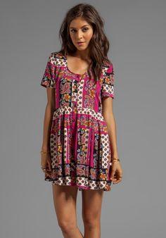 MINKPINK Princess of Persia Dress in Multi